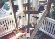 Restoration of Damage to Porch